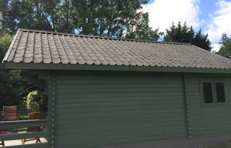 Lightweight villa roofing