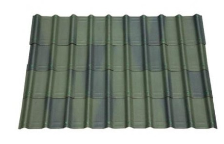 Shaded green villa roofing