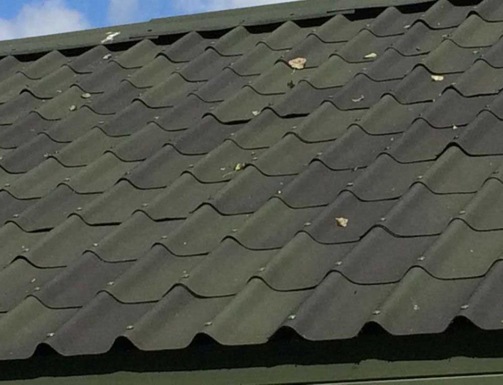 Villa style roofing