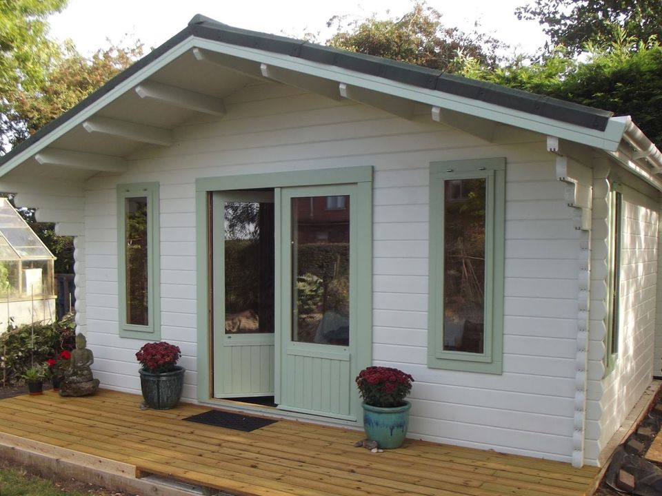 A New Therapy Room Log Cabin For Trish Keops Interlock
