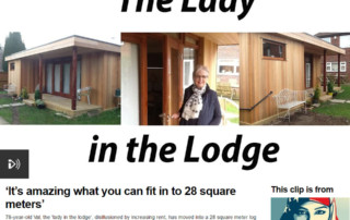Radio 4 Woman's Hour - The Lady in the Lodge interview