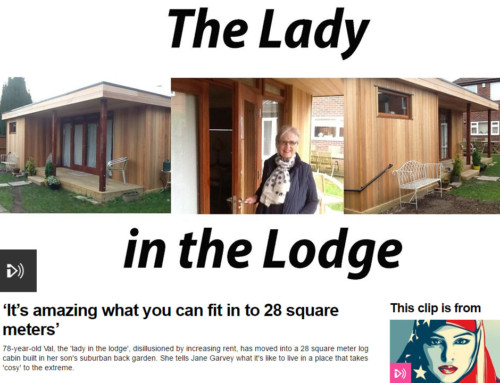 The easy way to achieve residential log cabin living in your garden