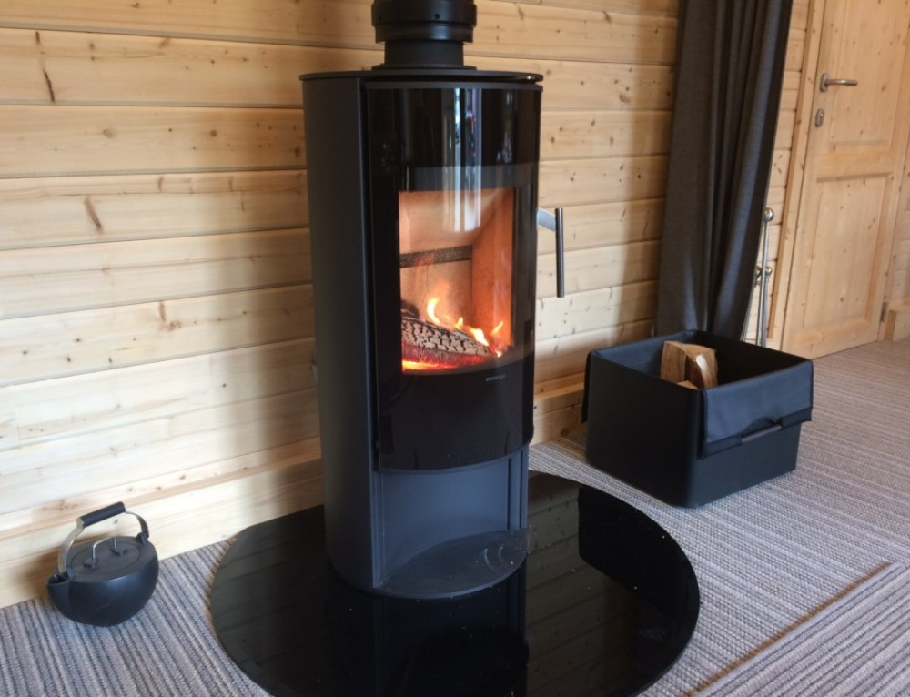 Pictures of our new Morso wood burning stove