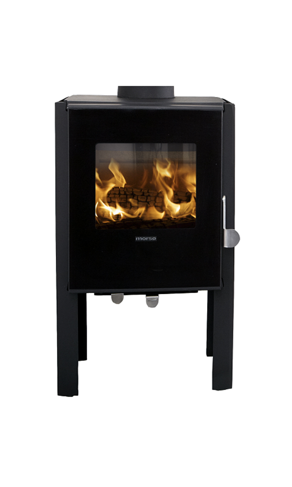 Morso 1448 multifuel stove for Keops log cabins