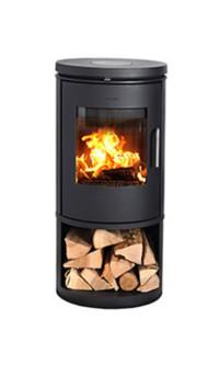 Morso 6143 wood burning stove for Keops log cabins