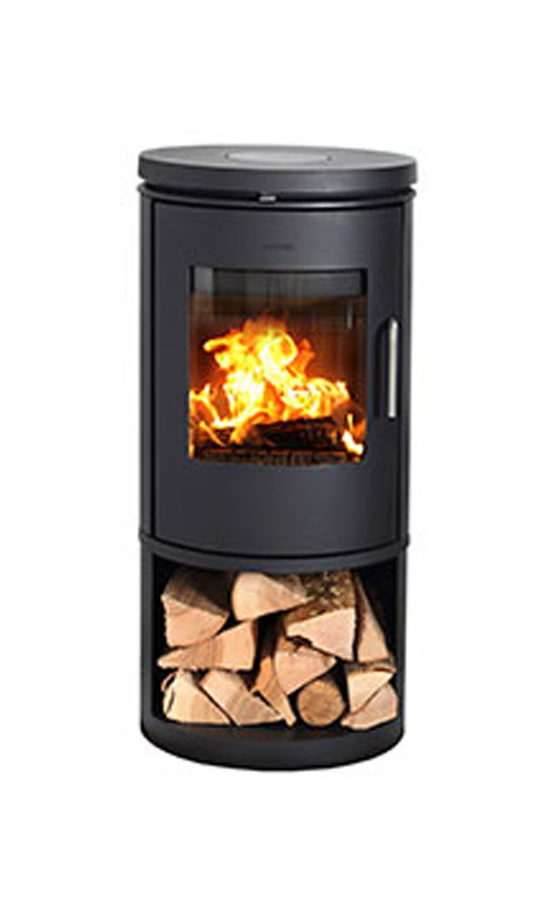 Morso 6143 wood burning stove for Keops log cabins
