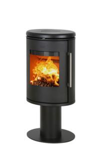Morso 6848 wood burning stove for Keops log cabins