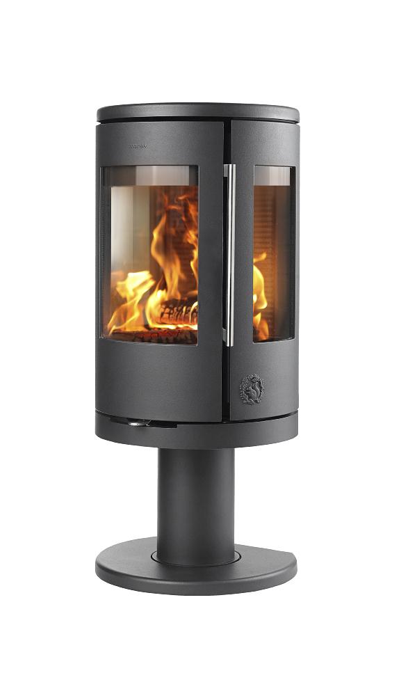 Morsø 7448 wood burning stove for Keops log cabins