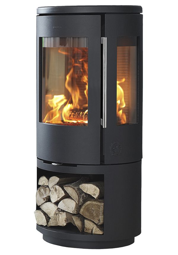 Morso 7443 wood burning stove for Keops log cabins