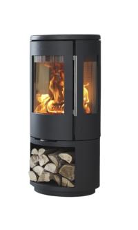Morso 7443 wood burning stove for Keops log cabins