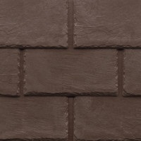 Tapco imitation slate roofing tiles in Chestnut Brown