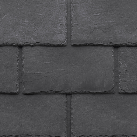 Tapco imitation slate roofing tiles in Pewter Grey