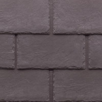 Tapco imitation slate roofing tiles in Plum