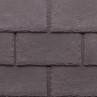 Tapco imitation slate roofing tiles in Plum