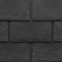 Tapco imitation slate roofing tiles in Stone Black