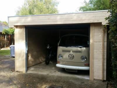 Keops Moderna flat roof garage for VW campervan