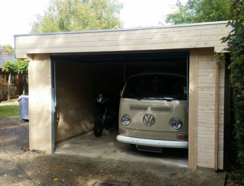 A new home for Mr M's VW Campervan