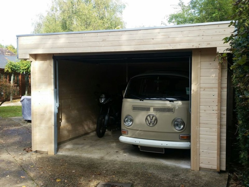 Keops Moderna flat roof garage for VW campervan