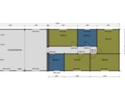 Keops Bittern caravan/mobile home Floor plan