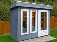 Lugarde Prima Daniel PR44 flat roof summerhouse
