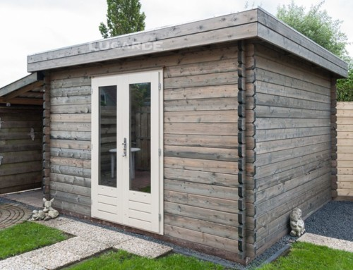 Essen log cabin B8