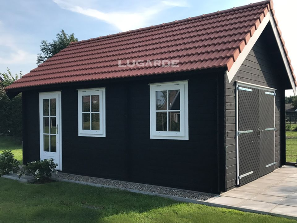 Lugarde Wyoming Garage G5 4m x 6m with 35 degree roof