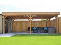 Lugarde Cartegena Gazebo VV1 with flat roof