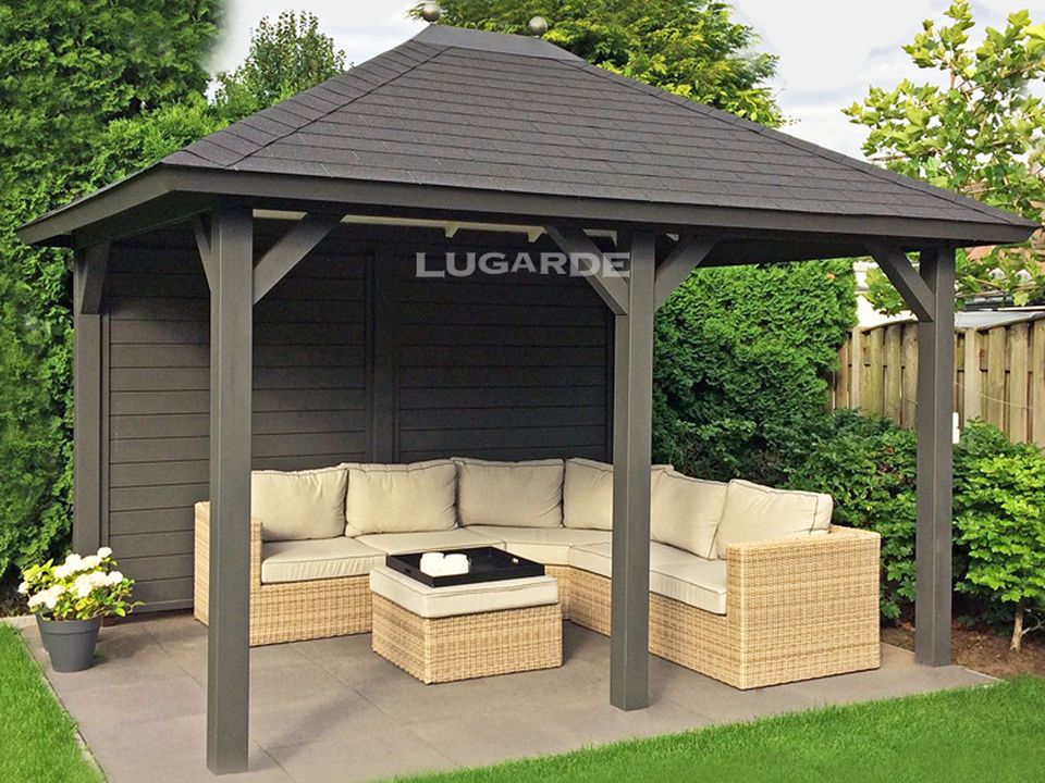 Lugarde Porto Gazebo VV5 with pyramid roof