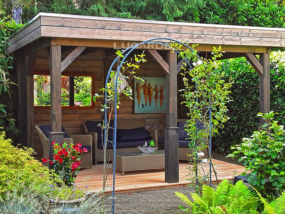 Lugarde Athens Gazebo VV6 with flat roof