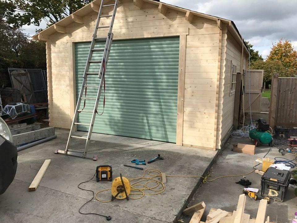 Roller garage door in Chartwell Green