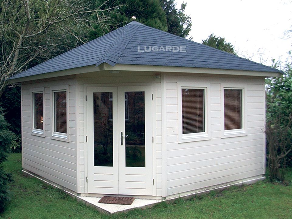 Lugarde Prima 5 side summerhouse P57