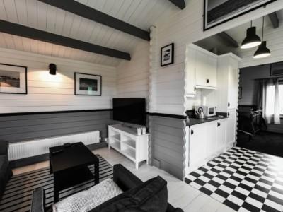 Keops Rosefinch caravan mobile home interior