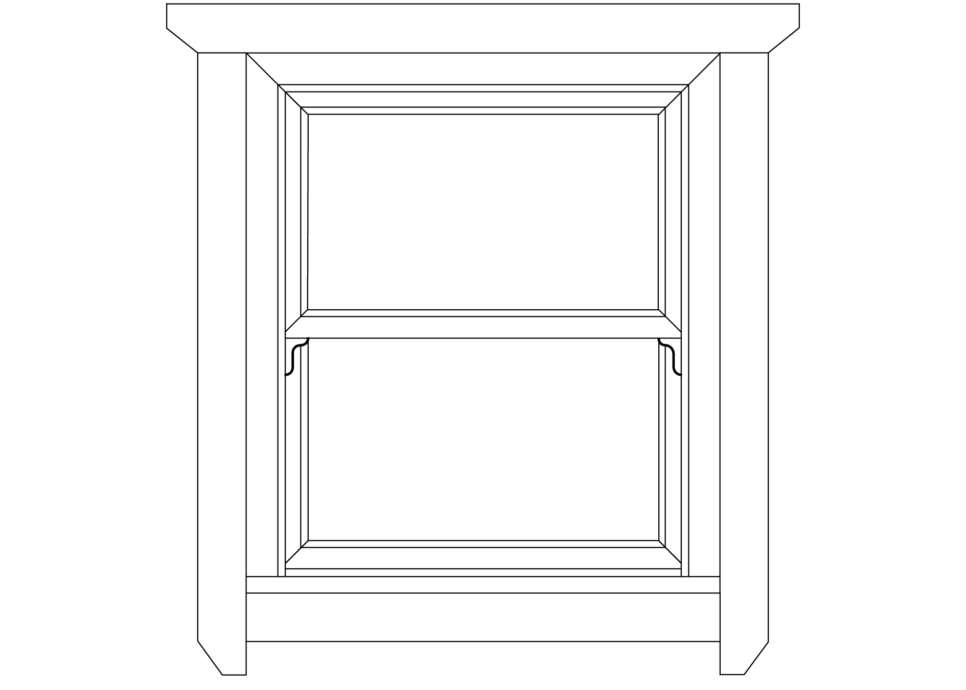 SRM sash window