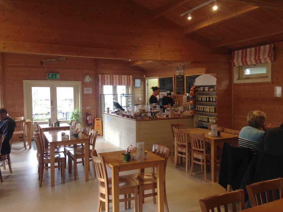 Log Cabin cafe interior