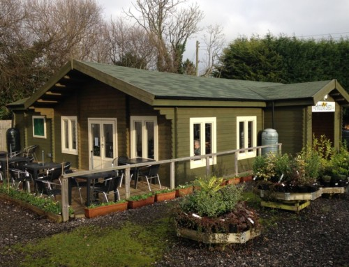 The Potting Shed Cafe at Chard Garden Centre