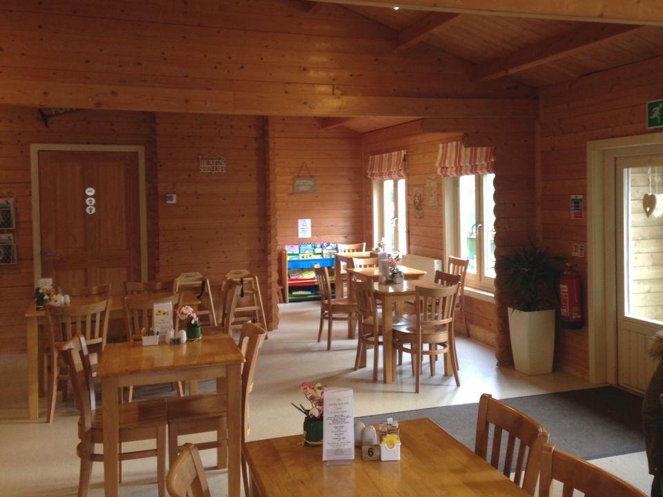 Keops Log cabin cafe to Building regs standard