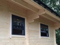 SRM sash windows - anthracite grey exterior