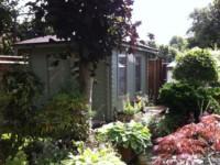 Lewis Keops Quatra pyramid roof log cabin
