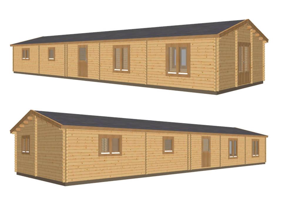 Keops Interlock Merlin mobile home/caravan