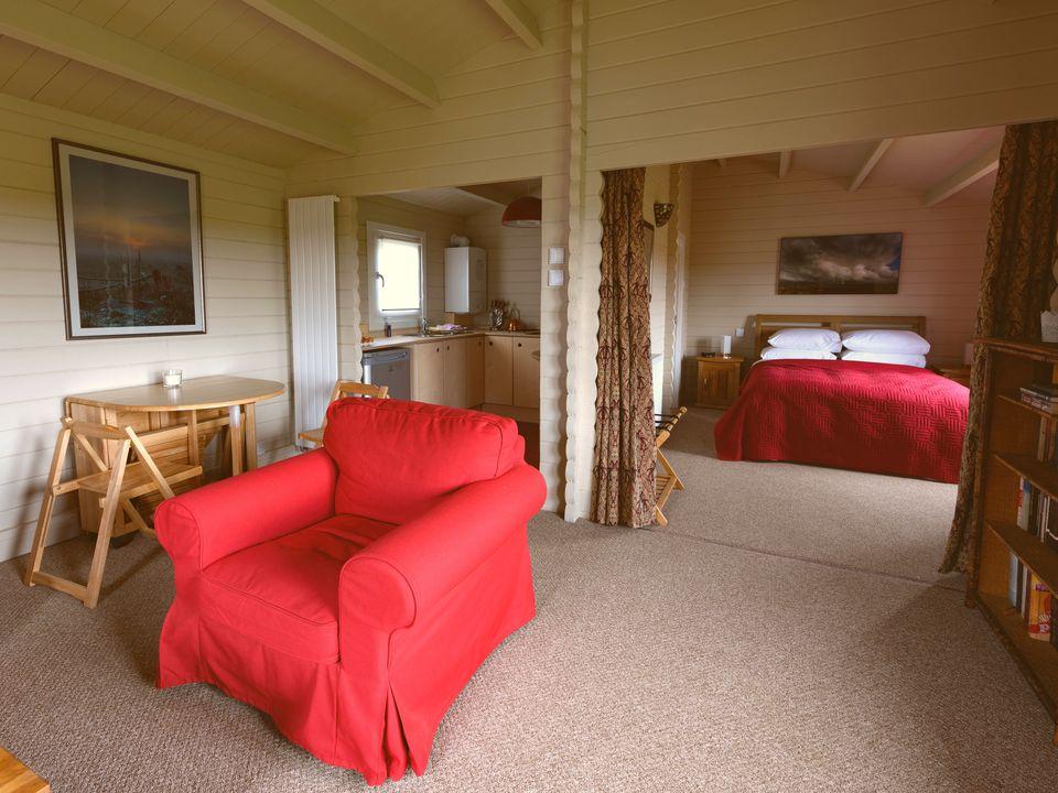 Keops Skylark caravan mobile home interior