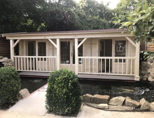 Mrs Renga's cabin
