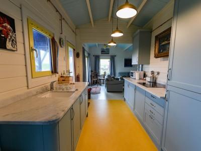 Goldfinch caravan mobile home kitchen