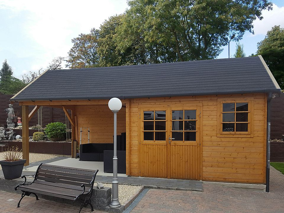 Keops Interlock Cottage Log Cabin Neave