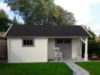 Keops Interlock Cottage Log Cabin Wells
