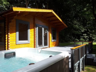 Keops Interlock Woodland Lodge Cornwall