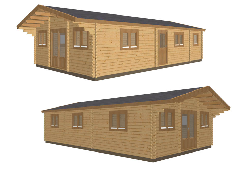 Keops Sandpiper two bedroom mobile home