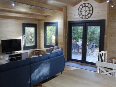 Keops Kittiwake Caravan open plan living room