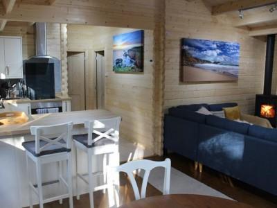 Keops Kittiwake kitchen and living room
