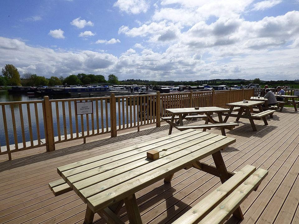 The Boathouse Cafe - the brew with a view!
