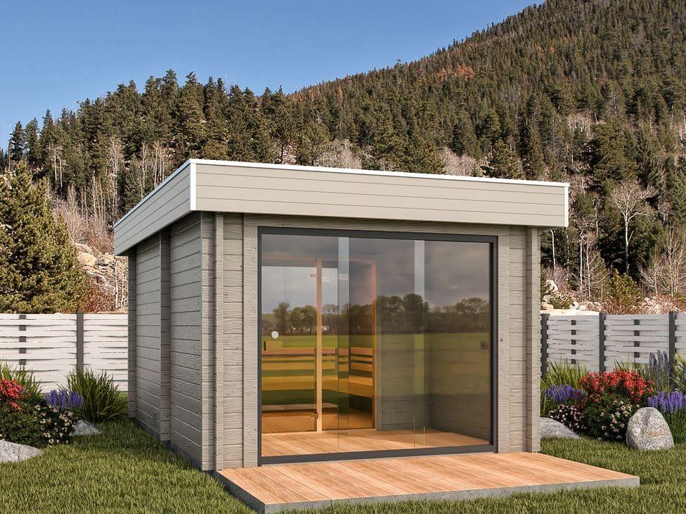 Freya sauna log cabin